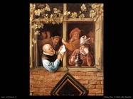 Steen Jan Retori a una finestra