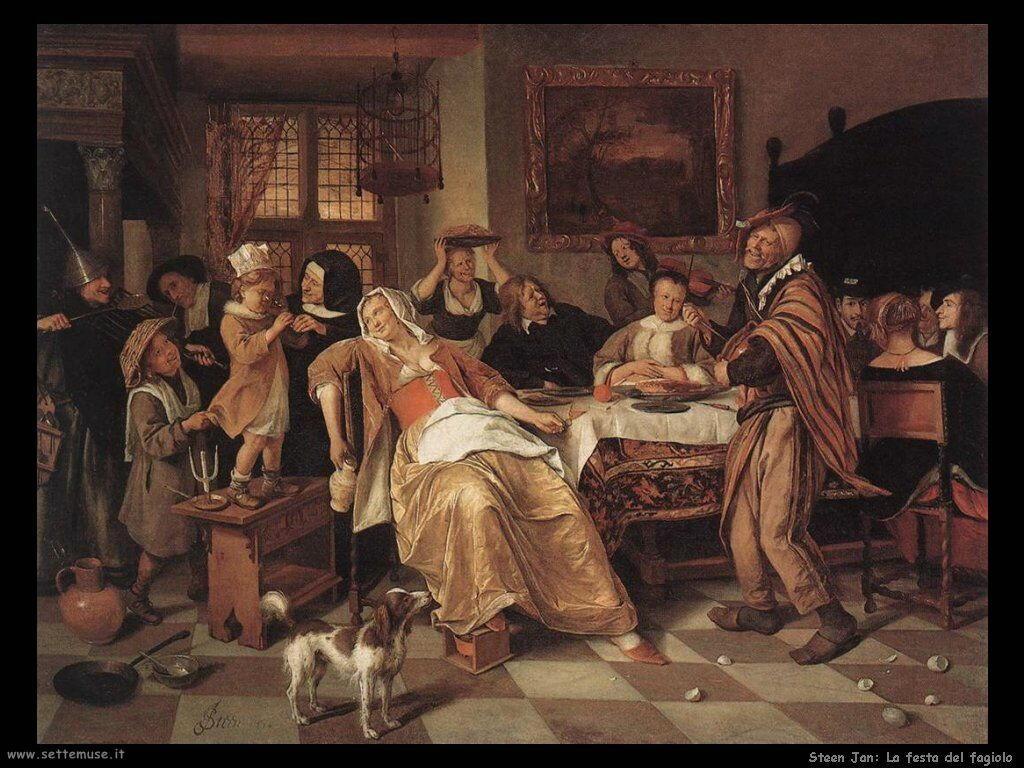Steen Jan La festa dei fagioli