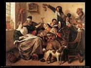 Steen Jan La famiglia dell'artista