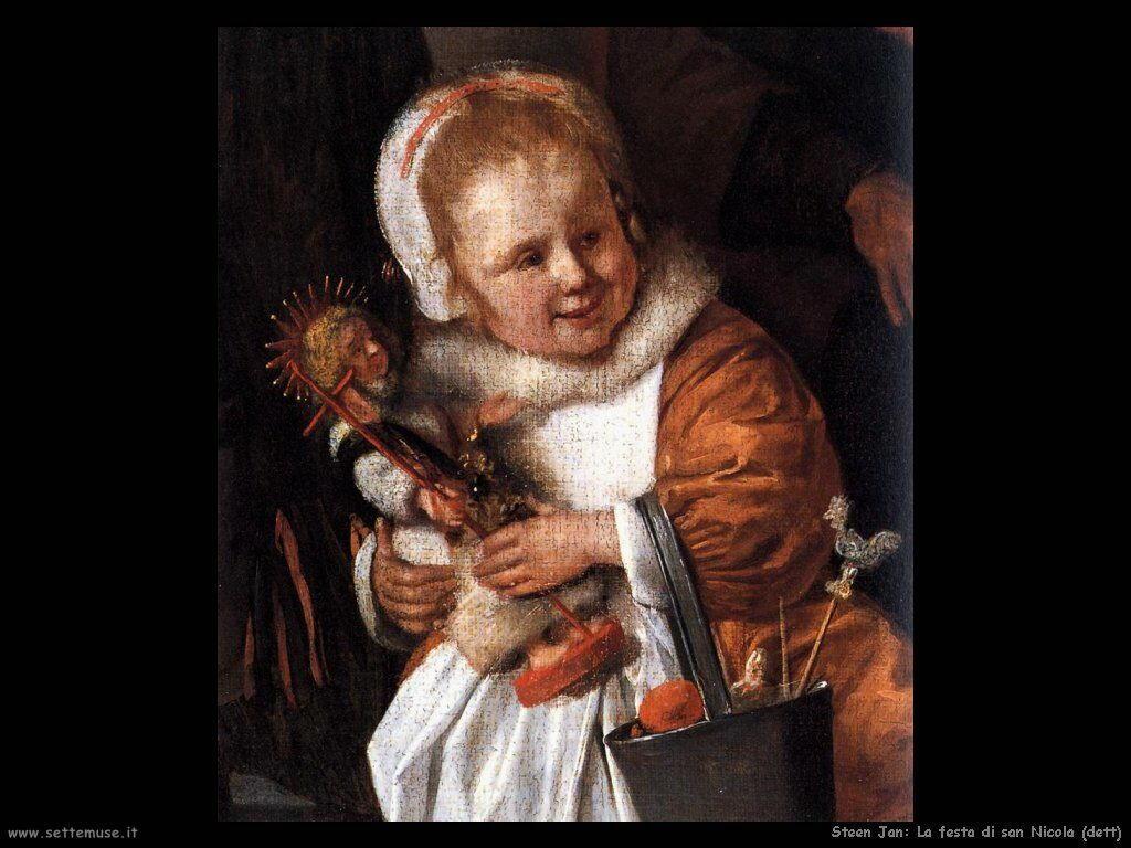 Steen Jan Festa di san Nicola (dettaglio)