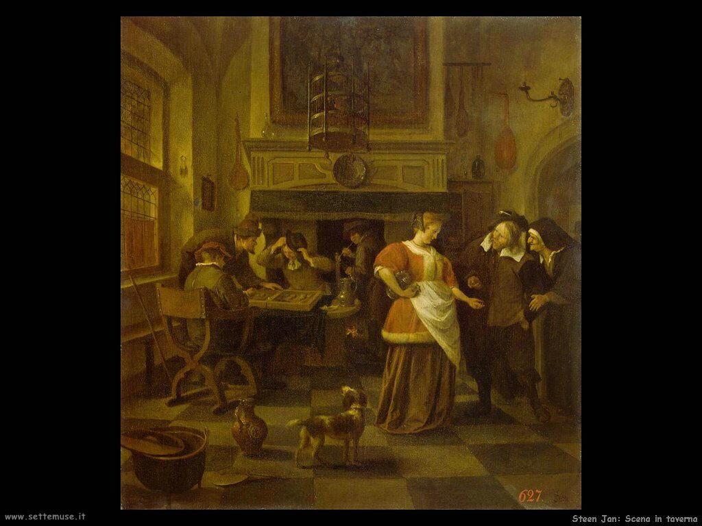 Steen Jan Scena di taverna