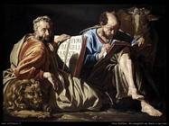 Stom Matthias Evangelisti San Marco e San Luca