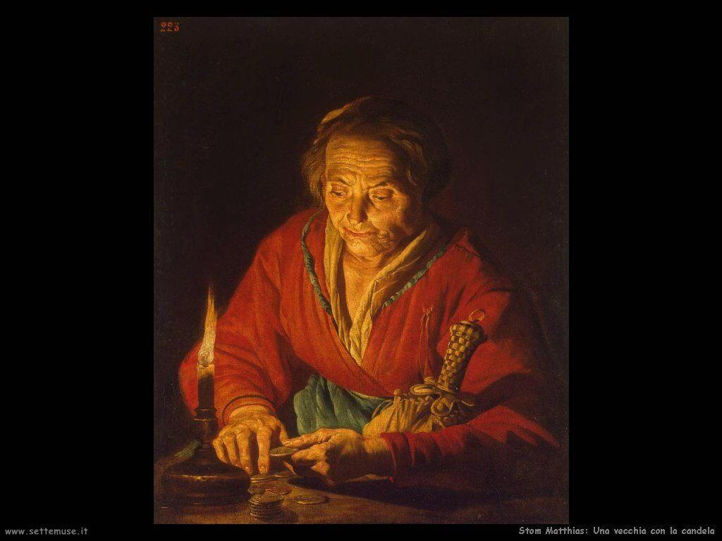 Stom Matthias Vecchia con candela