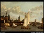 Storck Jacobus Vista di fantasia di Haarlem