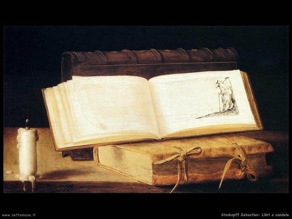 Stoskopff Sebastien Libri e candele
