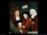 Strigel Bernhard Ritratto della famiglia Cuspian