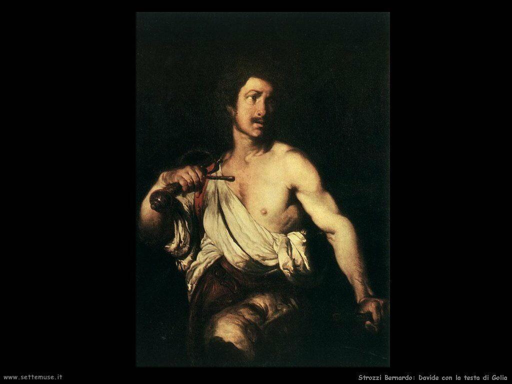 Strozzi Bernardo Davide con la testa di Golia