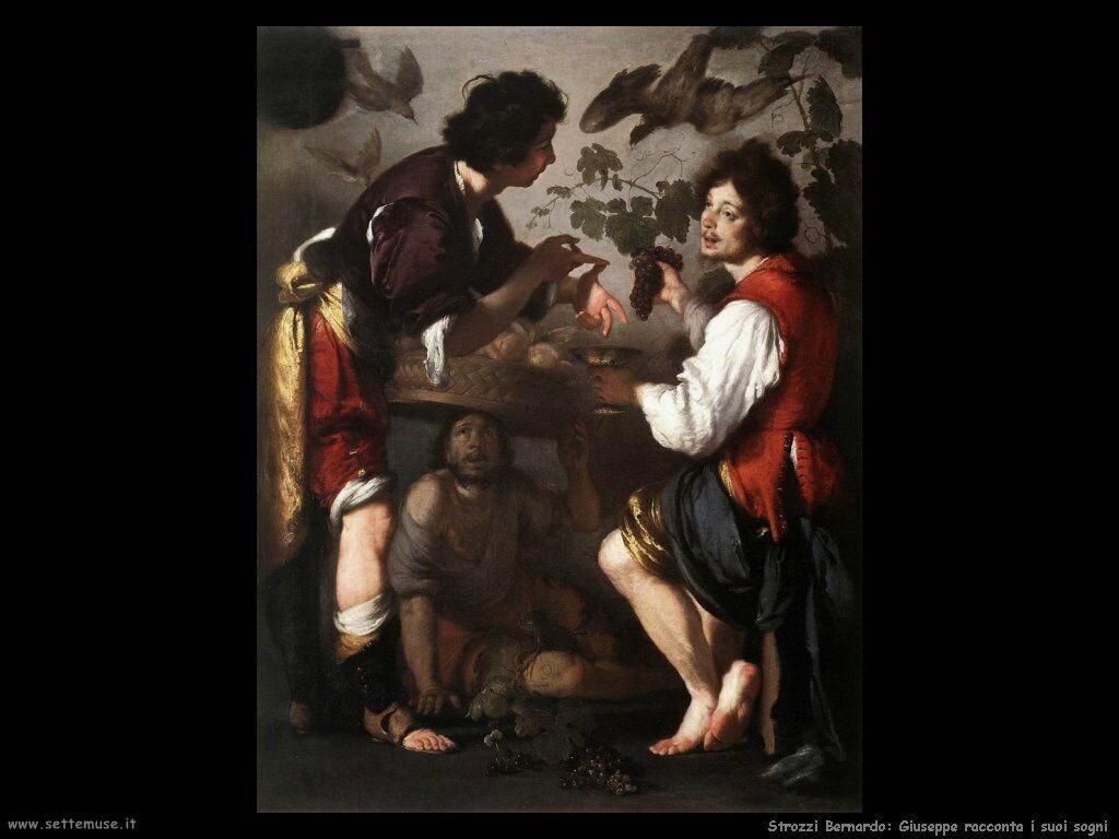Strozzi Bernardo Giuseppe racconta il suo sogno