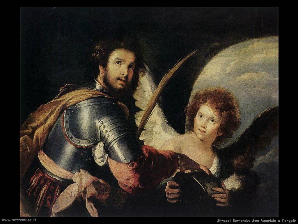 Strozzi Bernardo San Maurizio e l'Angelo