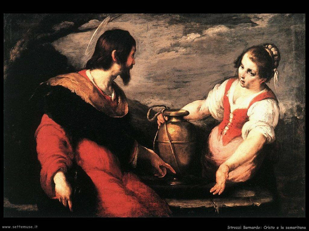 Strozzi Bernardo Cristo e la Samaritana