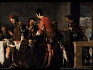 Strozzi Bernardo Il Banchetto alla casa di Simone (dettaglio)