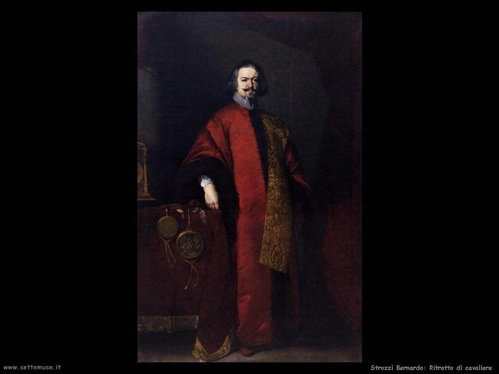 Strozzi Bernardo Ritratto di un Cavaliere
