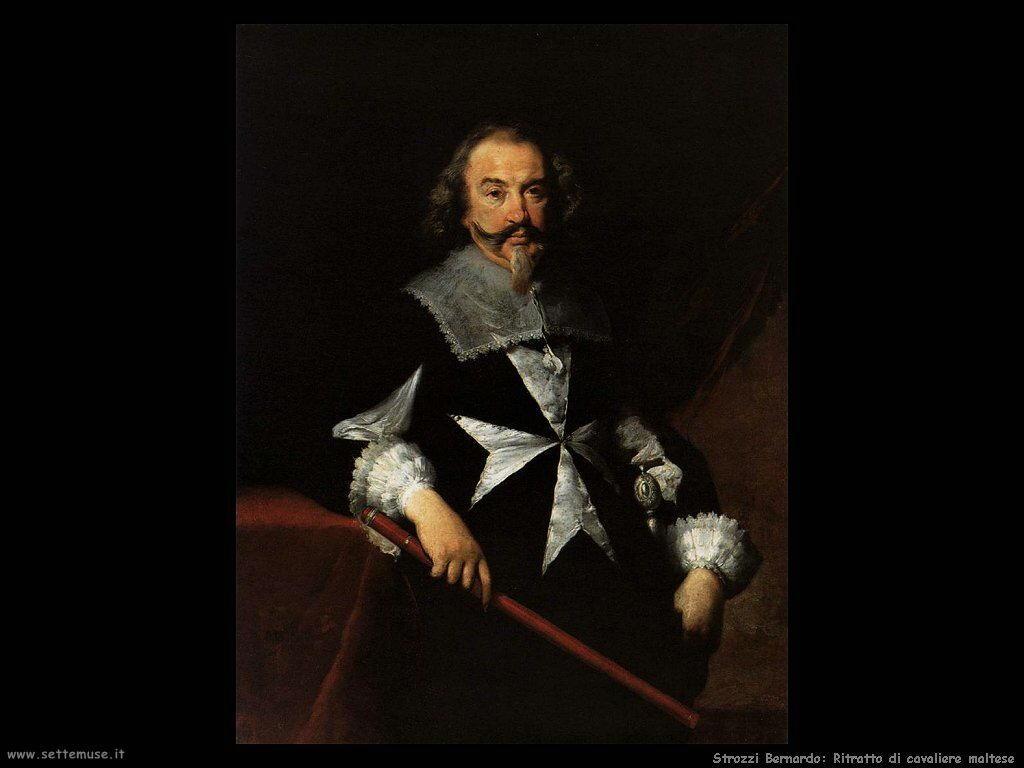 Strozzi Bernardo Ritratto di un Cavaliere di Malta