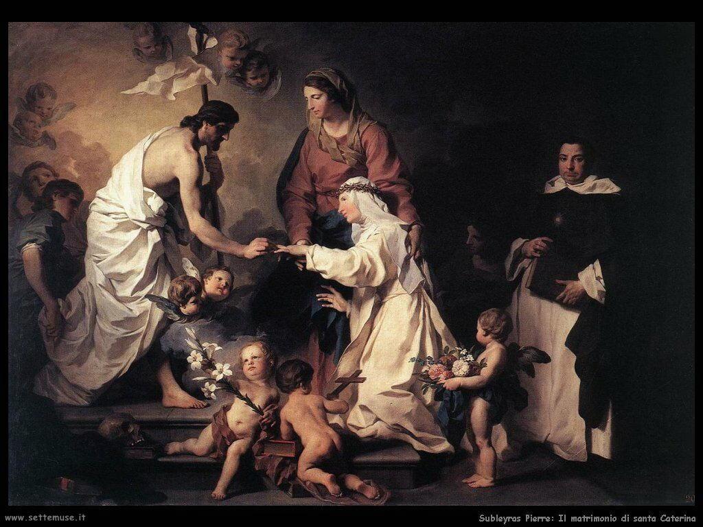 Subleyras Pierre Matrimonio di Santa Caterina