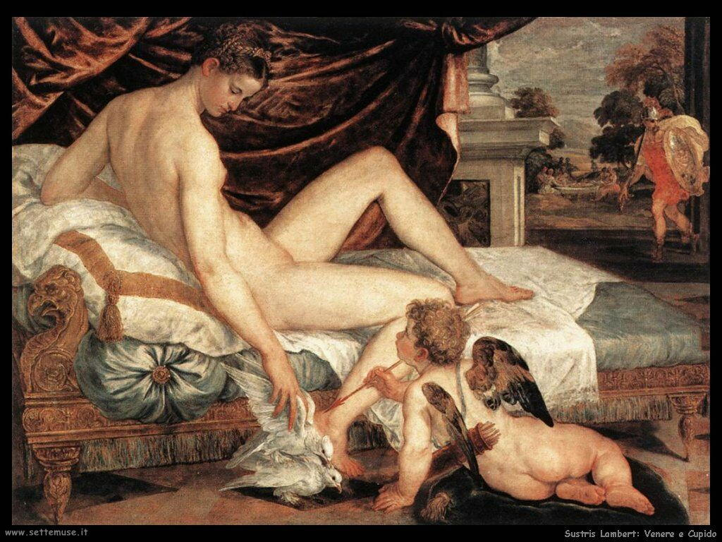 Sustris Lambert Venere e Cupido