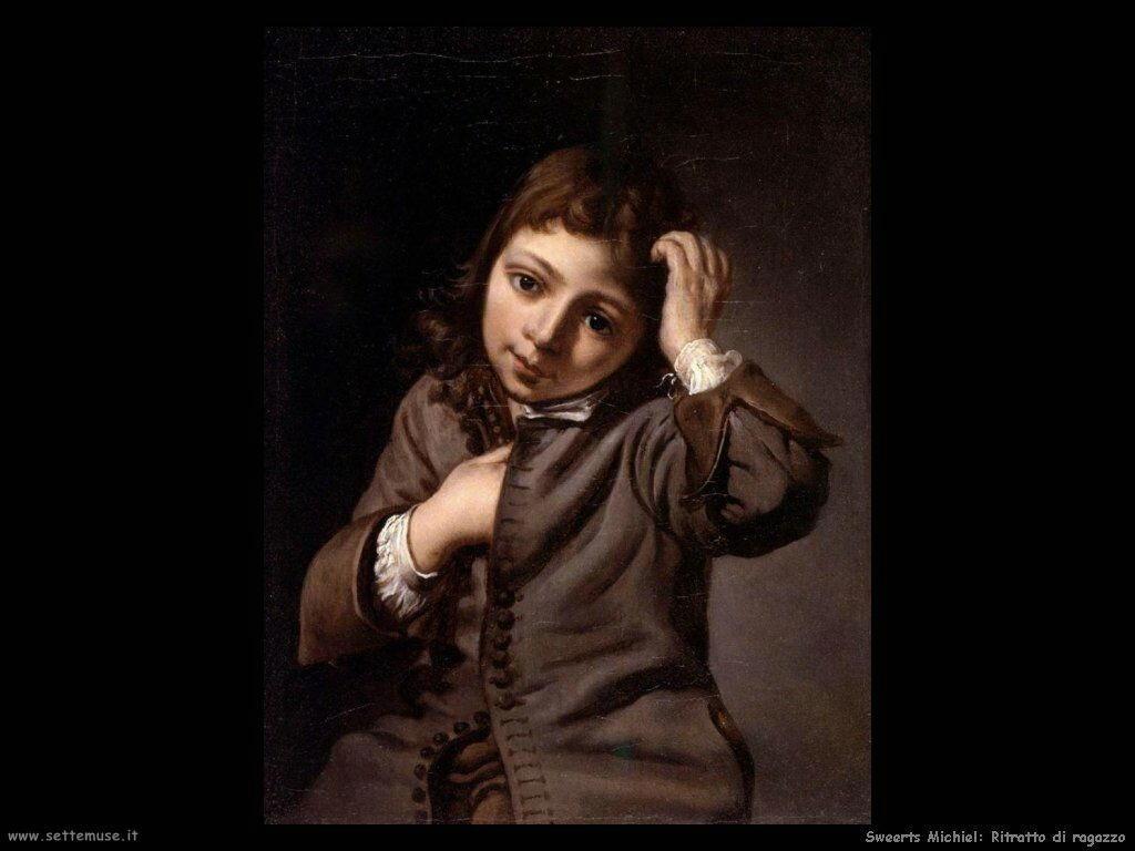 Sweerts Michiel Ritratto di giovane