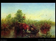 thompson jerome   gathering_waterlilies_1867