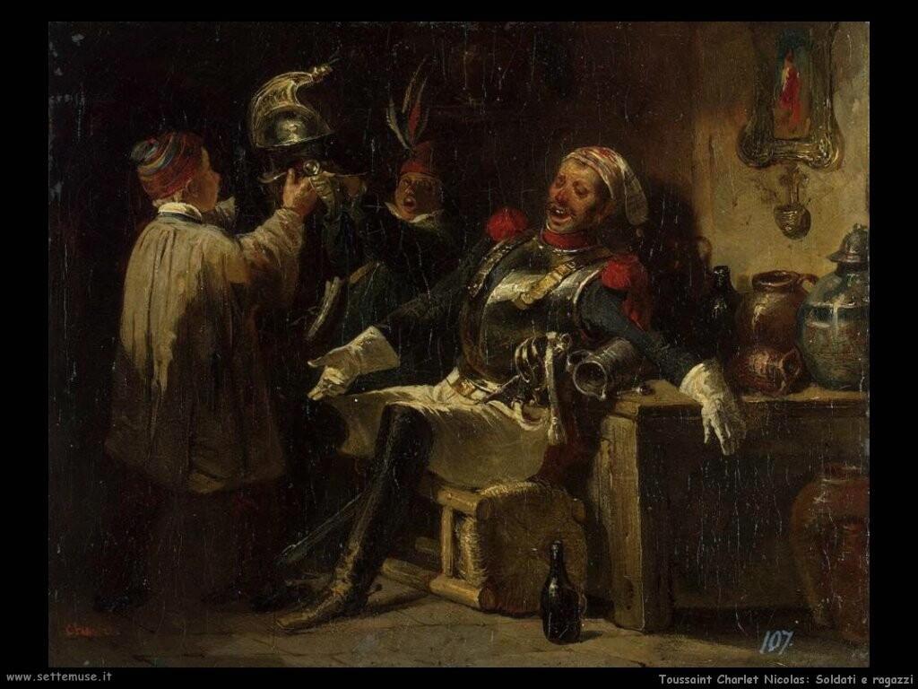 Toussaint Charlet Nicolas