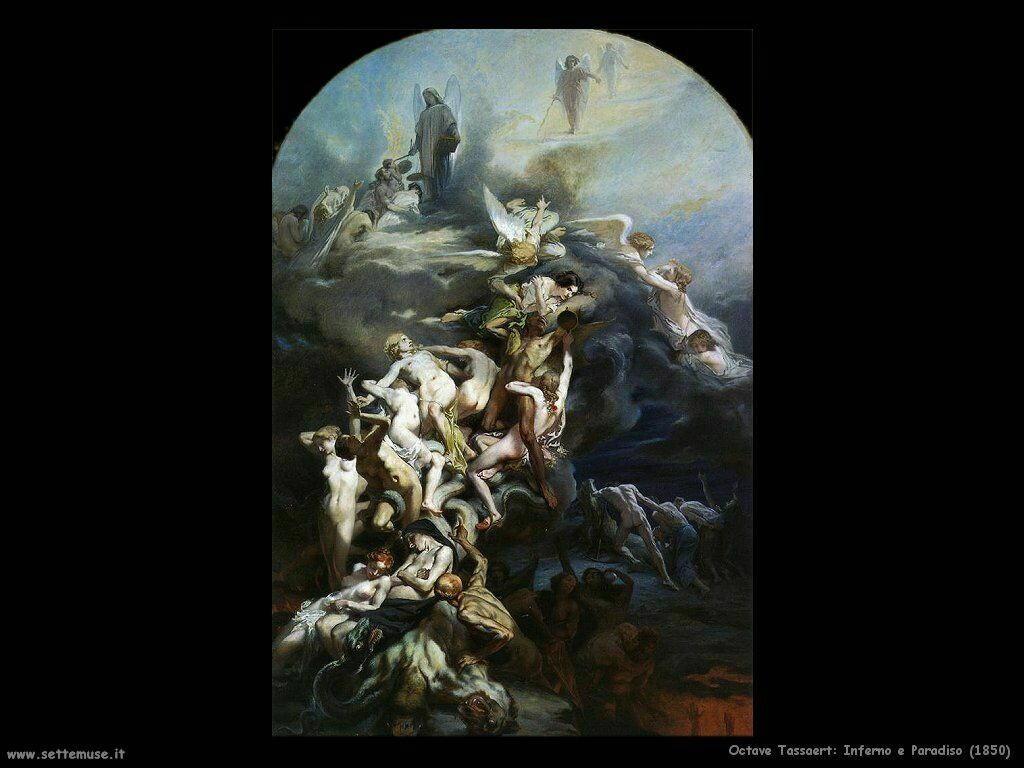 Tassaert Octave Paradiso ed Inferno (1850)
