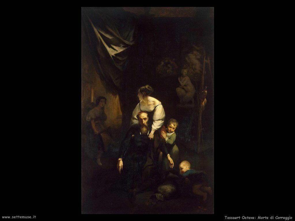 Tassaert Octave Morte di Correggio