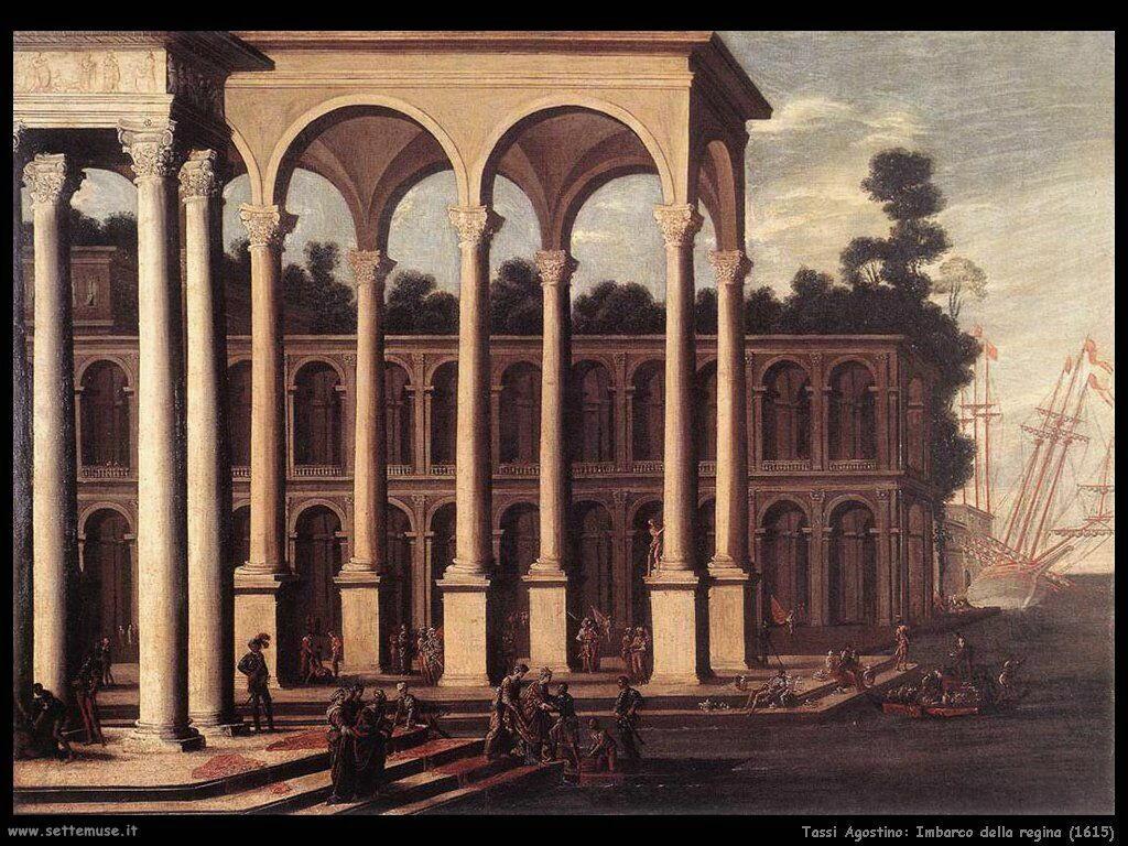 Tassi Agostino Imbarco della Regina (1615)