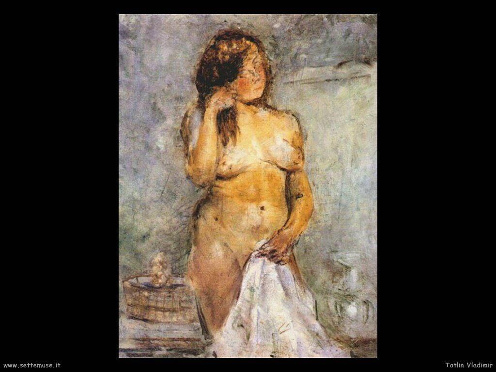 tatlin vladimir 007 female bather 1930