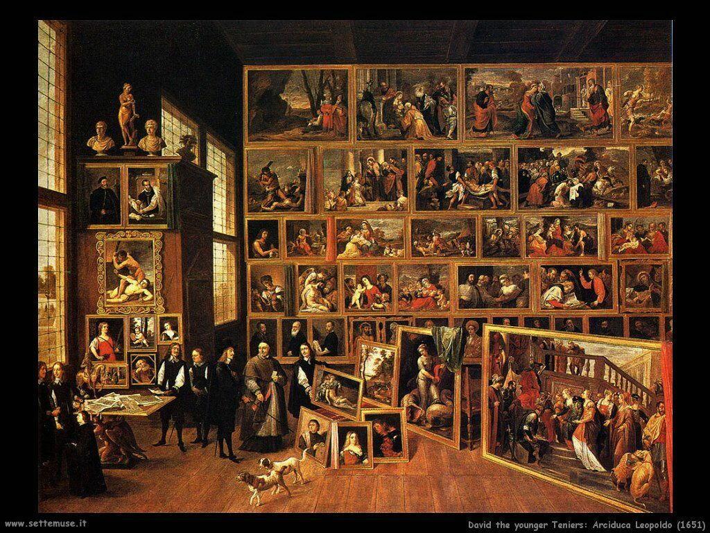 Teniers David Arciduca Leopoldo  (1651)