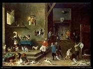 Teniers David La cucina
