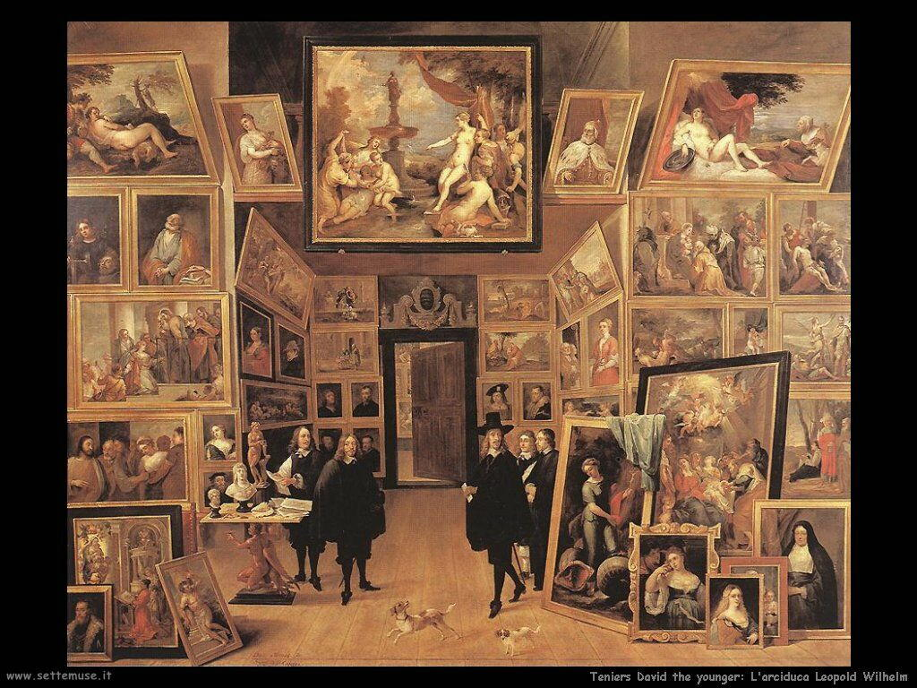 Teniers David the Youngers Arciduca Leopold Wilhelm