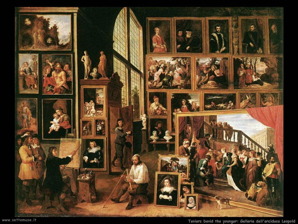 Teniers David the Youngers Galleria dell'Arciduca Leopoldo