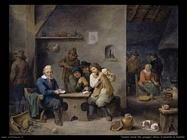 Teniers David the Youngers Giocatori d'azzardo nella taverna