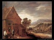 Teniers David the Youngers Davanti alla locanda