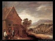 Teniers David the Youngers Davanti alla locanda