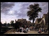 Teniers David the Youngers Festa alla locanda della mezza luna