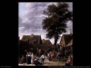Teniers David the Youngers Festa alla locanda della mezza luna (part)
