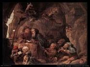 Teniers David the Youngers Le tentazioni di sant'Antonio (Dettaglio)