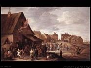 Teniers David the Youngers Festa al villaggio