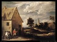 Teniers David the Youngers Immagine dal villaggio