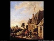 Teniers David the Youngers Scena di villaggio