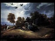 Teniers David the Youngers Caccia all'airone con l'Arciduca Leopoldo