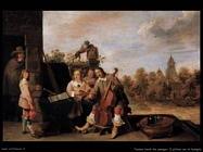 Teniers David the Youngers Il pittore con la famiglia