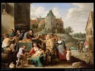 Teniers David the Youngers Le opere di misericordia