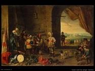 Teniers David the Youngers Posto di guardia