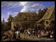 Teniers David the Youngers Festa di paese