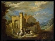 Teniers David the Youngers La tentazione di Sant'Antonio