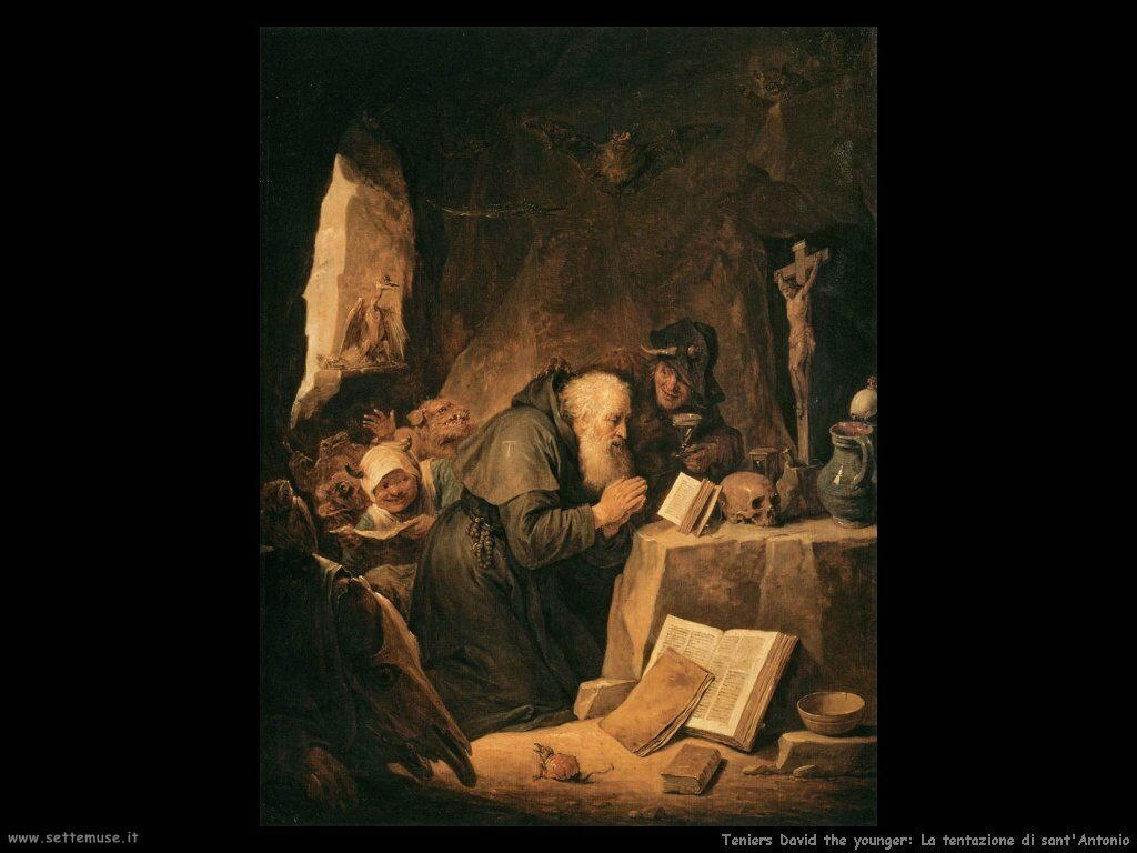 Teniers David the Youngers Tentazione di Sant'Antonio