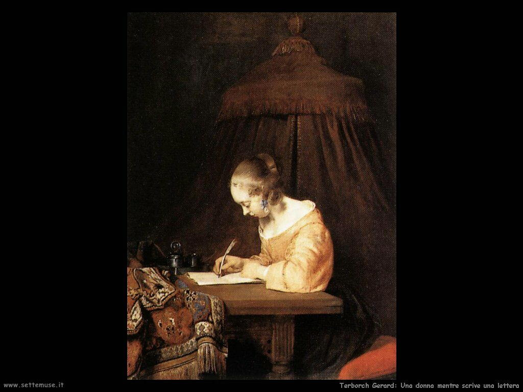 Woman Reading a Letter 1660-62