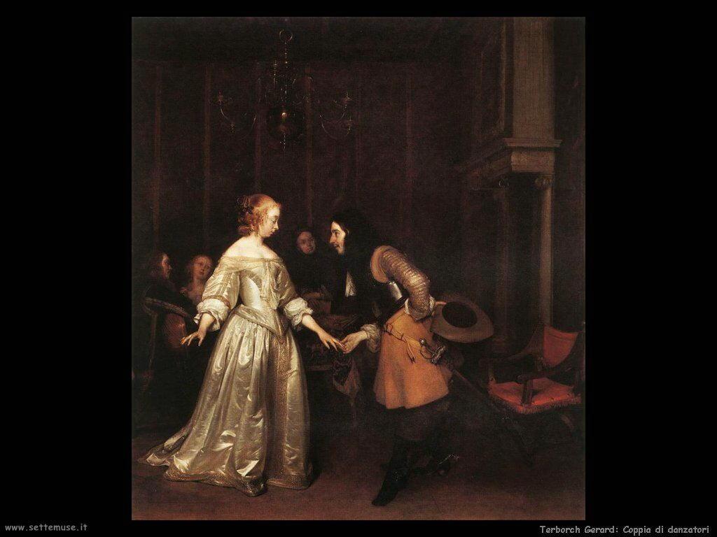Terborch Gerard Il giro di danza