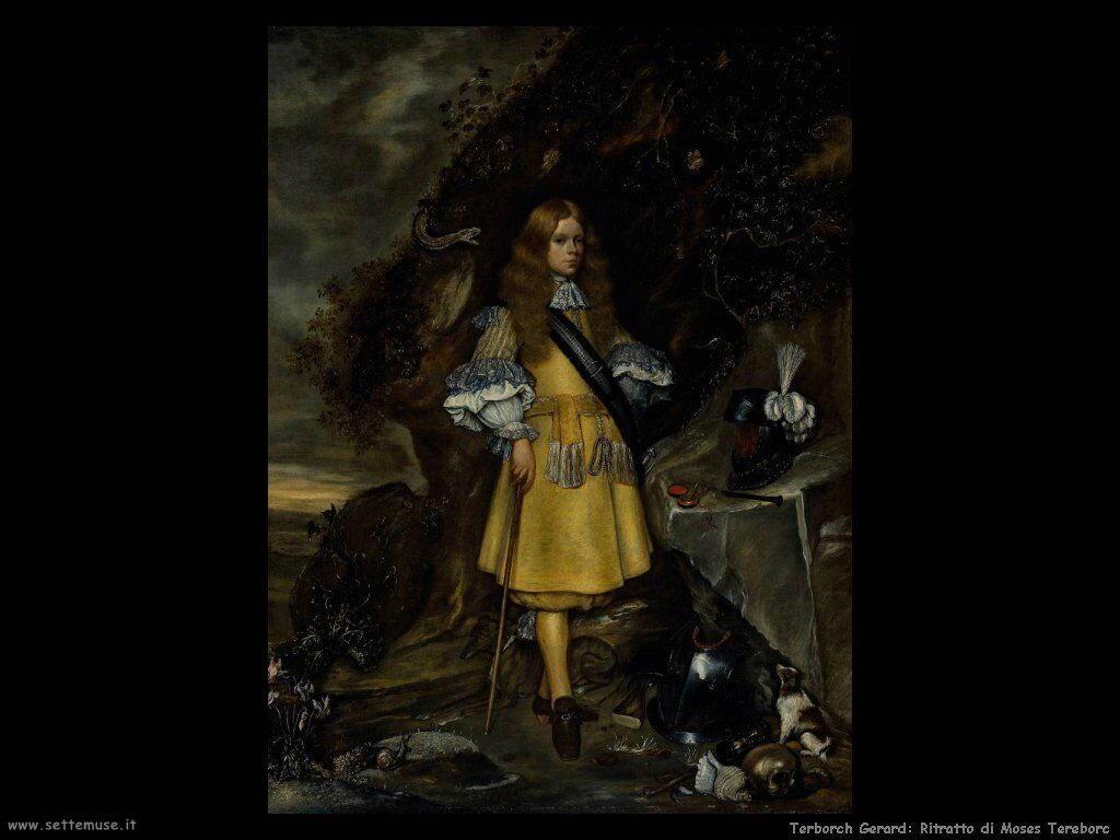 Terborch Gerard Ritratto di Moses Tereborc