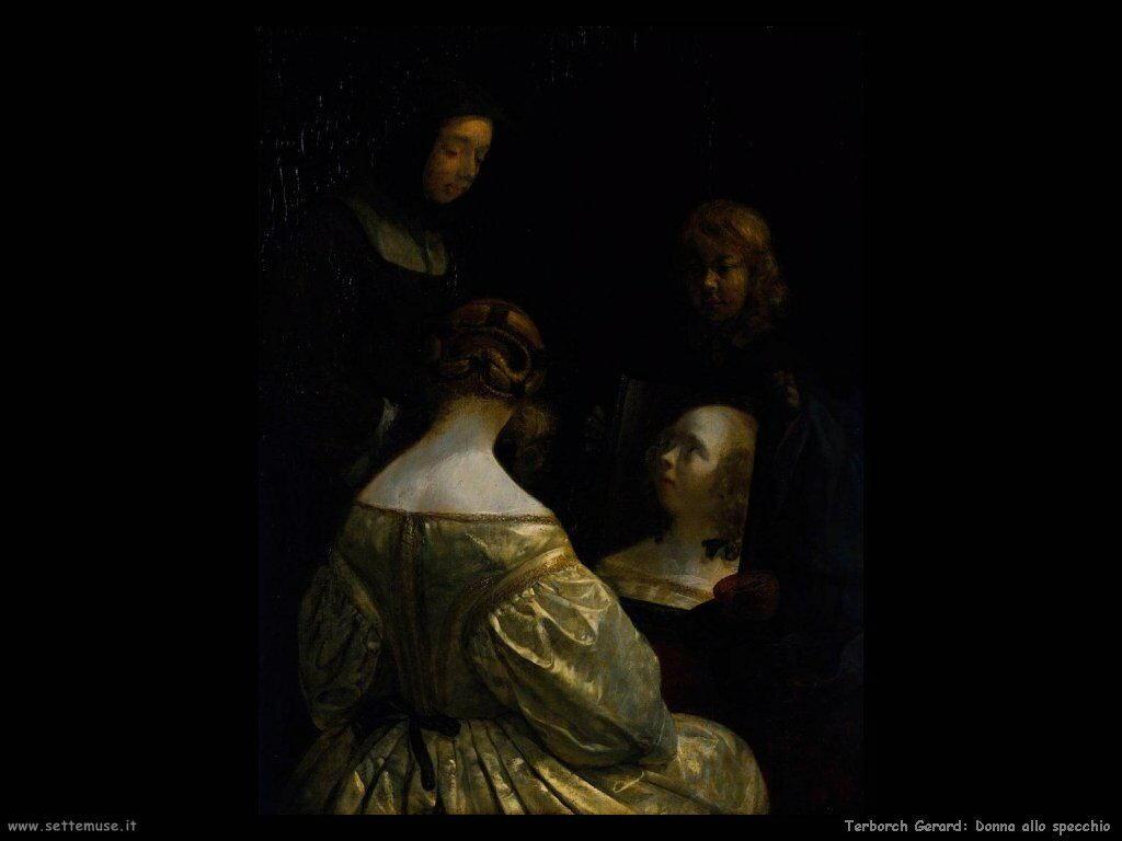 Terborch gerard pittore biografia foto opere - Cane allo specchio ...
